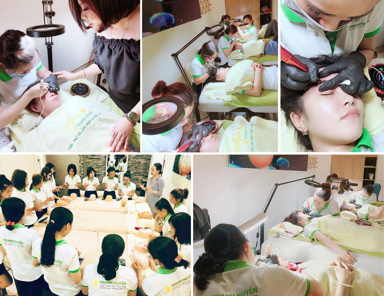 Học viên đào tạo thẩm mỹ Thanh Huyền. Với hơn 10 năm kinh nghiệm trong ngành thẩm mỹ và đào tạo. luôn đi đầu trong việc cập nhật những kỹ thuật công ...