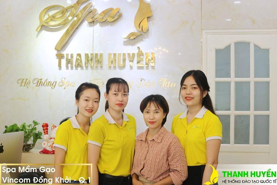 học viên có việc ngay khi tốt nghiệp tại Spa Thanh Huyền
