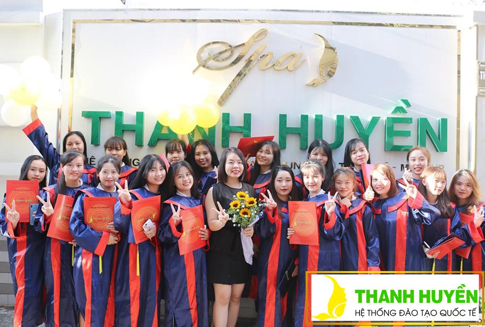 Lễ tốt nghiệp khóa học Spa TH23